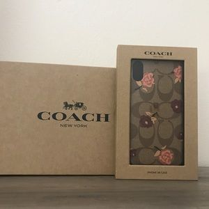 Coach Floral iPhone XR Case New
